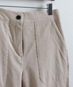 <br> Relaxed Corduroy Tong Pants <br> [Not returned or exchanged;