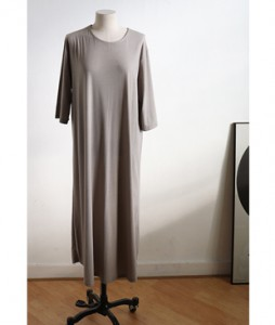 <br> Long Aline Dress <br> [Not returned or exchanged;