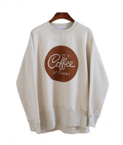 <br> Weed coffee napping Man to man Tee <br> [Not returned or exchanged;