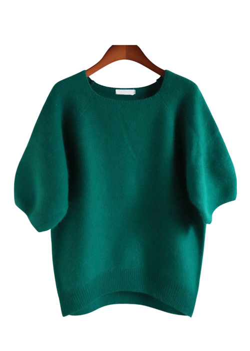 <br> feminine Color Angora Knit <br> [Not returned or exchanged;