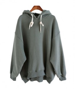 <br> Hoodie brushed Hood Tee <br> [Not returned or exchanged;