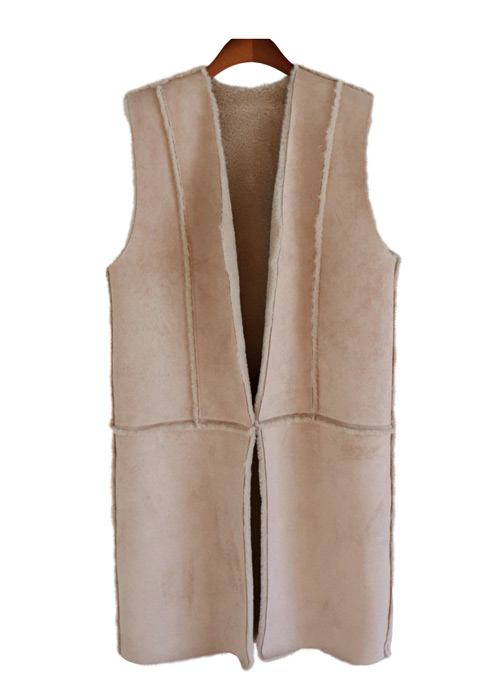 <br> Mustang Long Vest worn on both sides <br> - Not returned or exchanged;