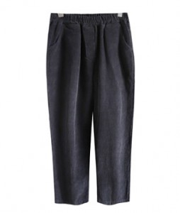 <br> Comfortable Corduroy Banding Pants <br> [Not returned or exchanged;