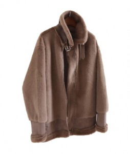 <br> Belted Mustang jacket real feeling <br> <b><font color=#253952>Outer 4th item</font></b>