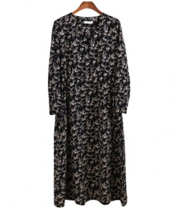 <br> London floral string dress <br> <b><font color=#253952>1st place dress</font></b>