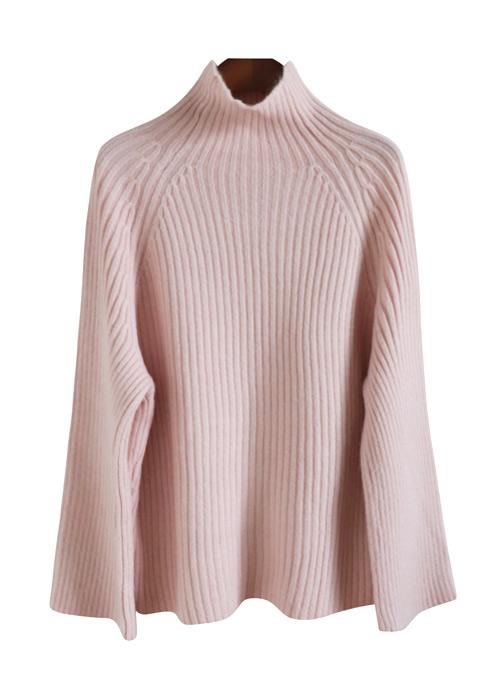 <br> Serra Half Neck Corrugated Knit <br> <b><font color=#253952>Knit fourth place items</font></b>
