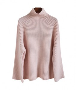 <br> Serra Half Neck Corrugated Knit <br><br>