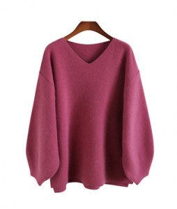 <br> feminine balloon angora knit <br> <b><font color=#253952>Knit second place items</font></b>
