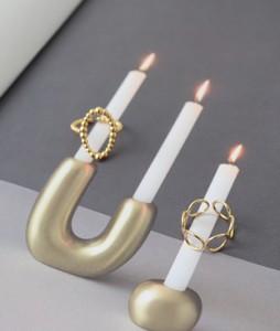 Zoe Gold Ring Set <br>
