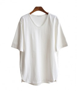 <br> layered good tan V-neck Tee <br> <b><font color=#253952>TOP 1 items</font></b>