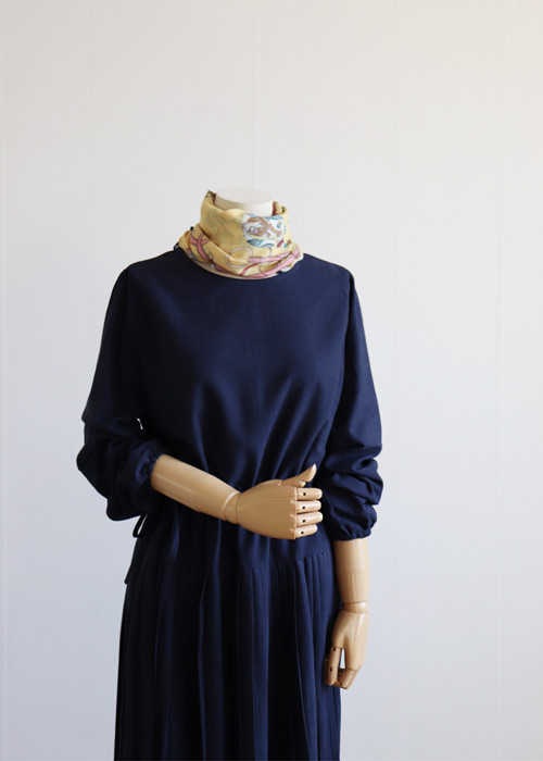 <br> Pio Navy Dress <br> - Not returned or exchanged;