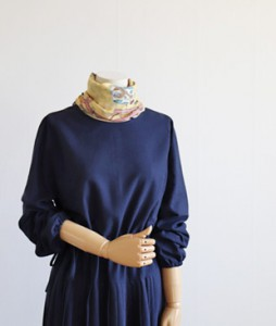 <br> Pio Navy Dress <br><br>