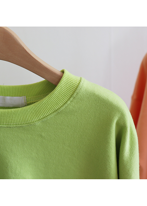 <br> loose fit Color Man to man Tee <br><br>
