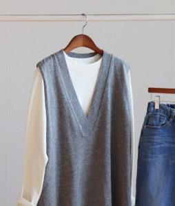 <br> Voodoo V-neck Vest <br> <b><font color=#253952>Knit second place items</font></b>