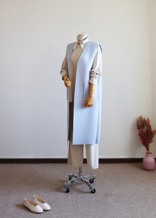 <br> Neat Long Neo Vest <br> - Not returned or exchanged;