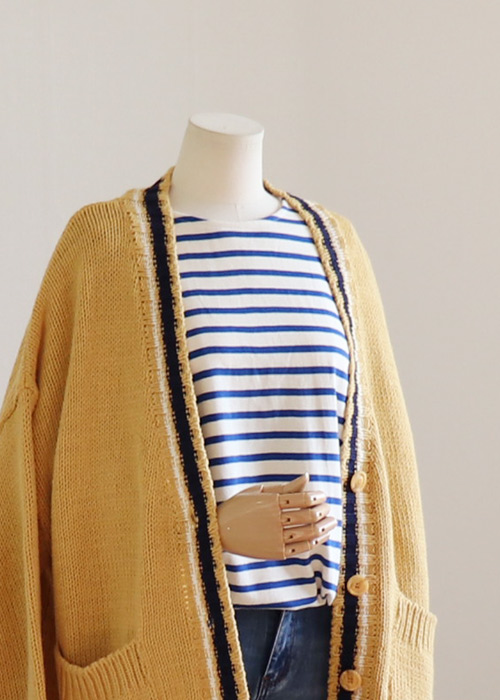<br> Shael color combination Boxy Cardigan <br> - Not returned or exchanged;