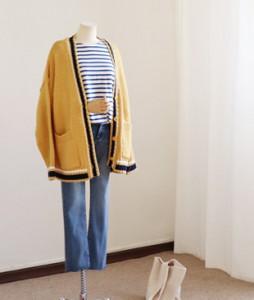 <br> Shael color combination Boxy Cardigan <br><br>