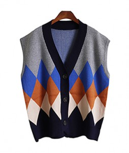 <br> diamond color combination Vest <br><br>
