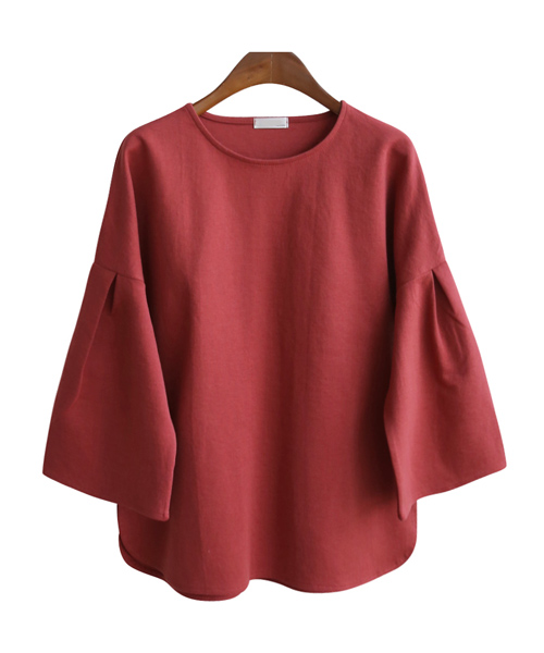 <br> Moit Shirring Puff Tee <br><br>