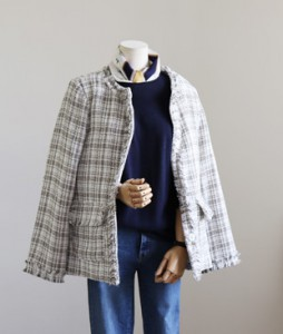 <br> Mary Tweed Jacket <br><br>