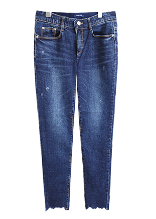 <br> (2019) Blue Cutting Kosig Denim Pants <br><br>