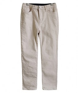 <br> Inner Banding Cotton span Straight Pants <br><br>