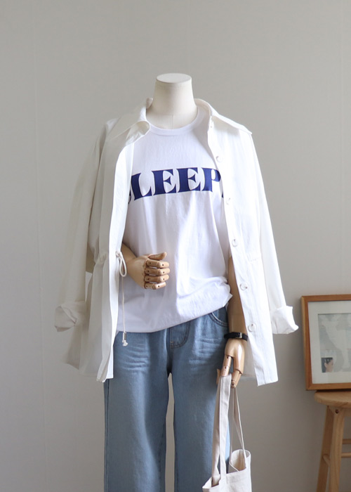 <br> Natural string field jacket Jacket <br> <b><font color=#253952>Outer 4th item</font></b>