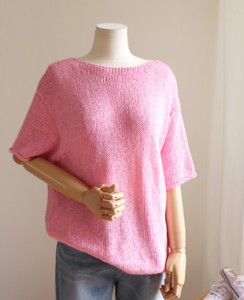 <br> Color Knit Boat Neck Knit <br><br>