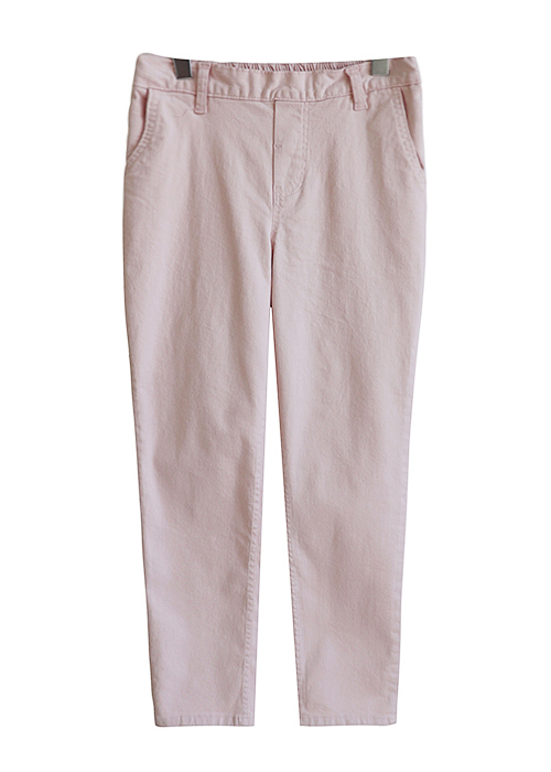 <br> Daily Back Bending Cotton Semi Pants <br><br>