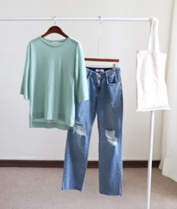 <br> Linen Uncle Tee 7 <br><br>