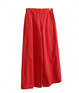 <br> Side Incision Wide Pants <br> - Not returned or exchanged;