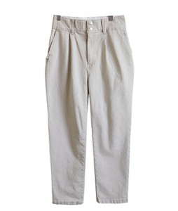 <br> Baggy Banding Pants Tight Tight Button <br> <b><font color=#253952>Pants 3rd place</font></b>