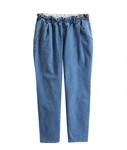 <br> Daily Denim Baggy Banding Pants <br><br>