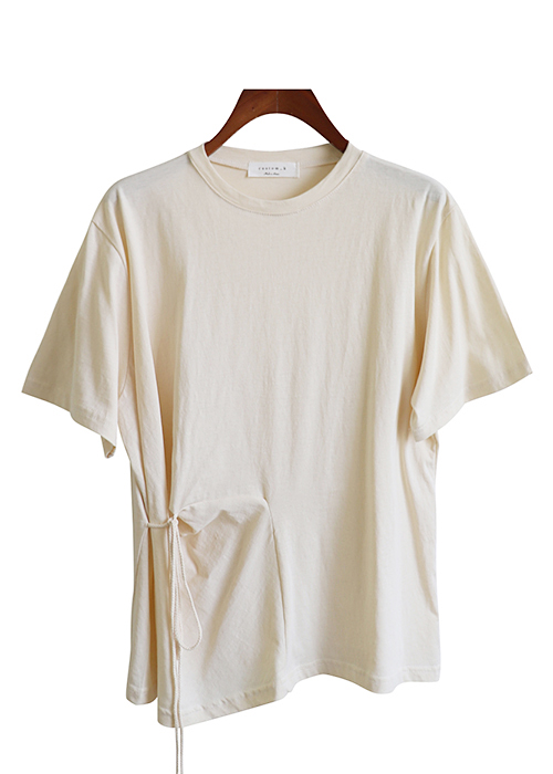 <br> Stylish string Tee <br> - Not returned or exchanged;