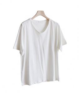 <br> U-Neck Short-sleeve Tee <br><br>