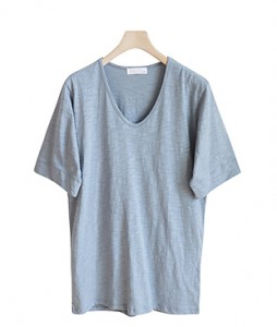 <br> Dale Slab Basic Tee <br> <b><font color=#253952>T-shirt 5th item</font></b>
