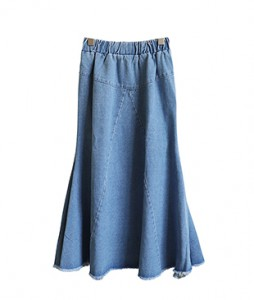 <br> Fera Mermaid Denim Skirt <br> <b><font color=#253952>1st item in skirt</font></b>