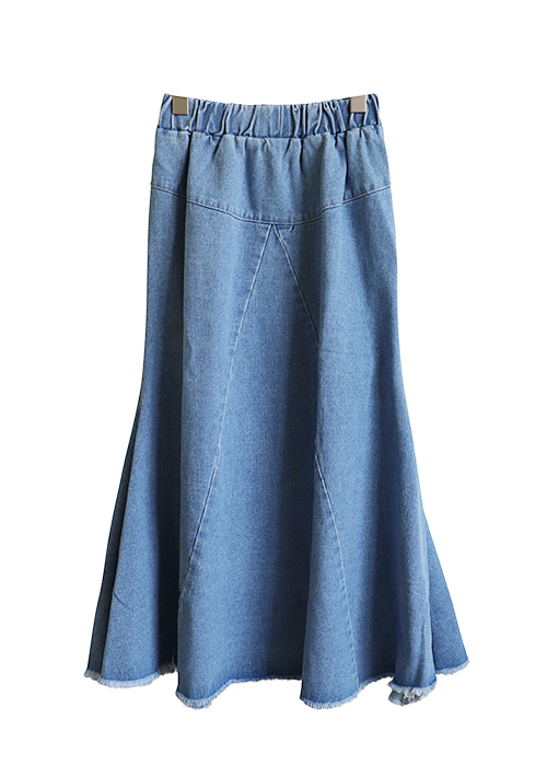 <br> Feramerme Denim Skirt <br><br>