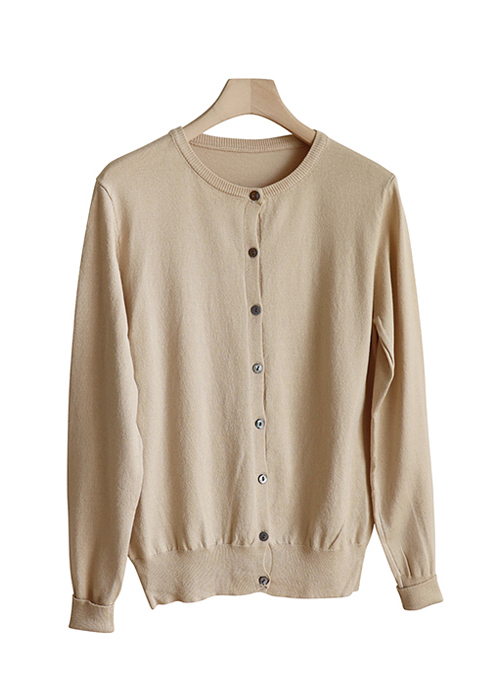 <br> Soft Round Cardigan <br> - Not returned or exchanged;