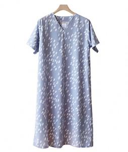 <br> Nut Print v Dress <br><br>