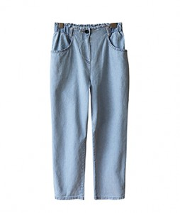 <br> Alan rear banding Light blue Baggy pants <br> <b><font color=#253952>Pants 5th place</font></b>