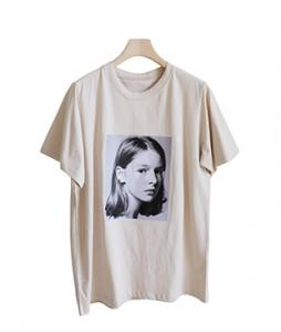 <br> Cheongsun Girl Short-sleeve Tee <br><br>