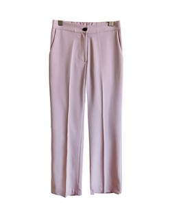 <br> Side incision rear banding Slacks <br><br>