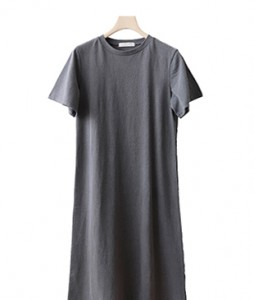 <br> Washing Cotton Long Dress <br><br>