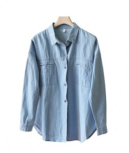 <br> Hope Soft Light blue Shirt <br><br>