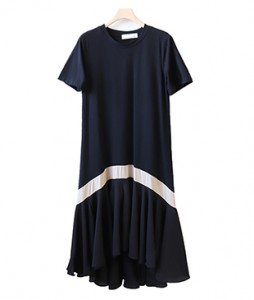 <br> Top glass color combination v Dress <br><br>
