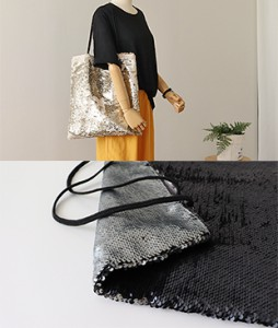 <br> Spangle Eco Bag <br><br>