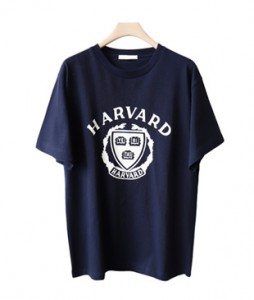 <br> Harvard Long Short-sleeve Tee <br><br>