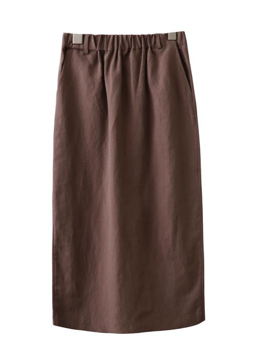 <br> Soft Linen H Skirt <br><br>