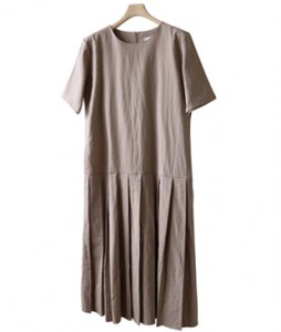 <br> Jenny Linen Pleats Maxi Dress <br><br>